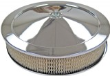 "14"" CHROME AIR CLEANER- QJET"